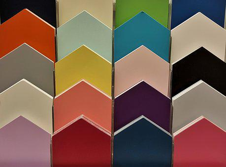 Colors, Colorful, Color Board, Pickets, Color Matching