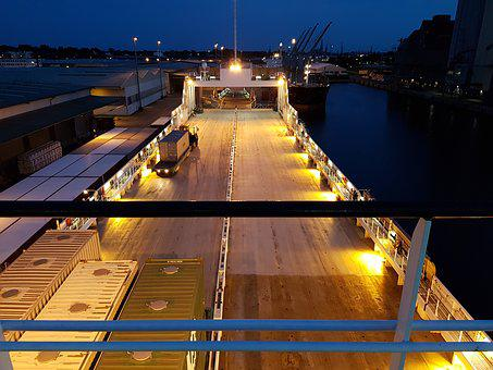 Frachtschiff, Cargo, Container, Container Ship, Traffic