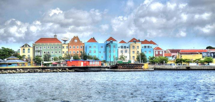 Willemstad, Curacao, Caribbean, Antilles, Dutch, City
