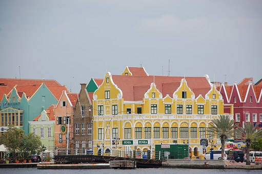 Penha, Handelskade, Willemstad, Curacao, Caribbean Sea