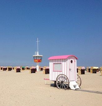 Beach, Travemünde, Baltic Sea, Lübeck Bay, Maritime
