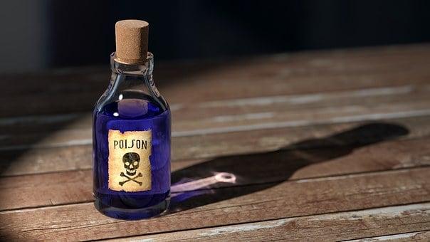 Poison, Bottle, Medicine, Old, Symbol, Medical, Sign