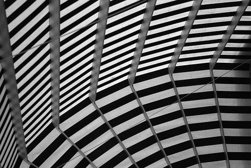 Awning, Pergola, Roof, Fabric, Stripes, Tissue, Texture