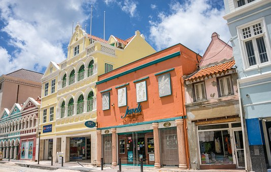 Curacao, Town, Architecture, City, Antilles, Willemstad