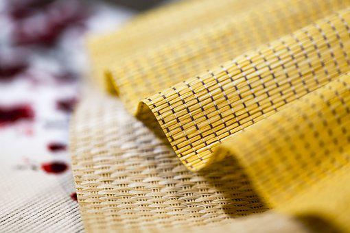 Fabric, Sun Weave, Wheat, Sample, Fabric Sample, Yellow