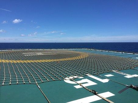 Offshore, Ocean, Sea, Platform, Gas, Rig, Oil