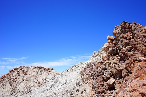 Teide, Pico Del Teide, Summit, Away, Trail