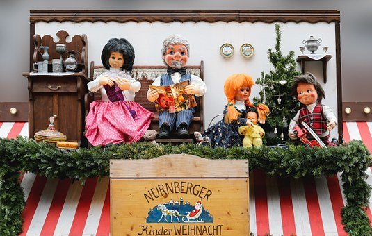 Dolls, Puppet Theatre, Fairytale Characters