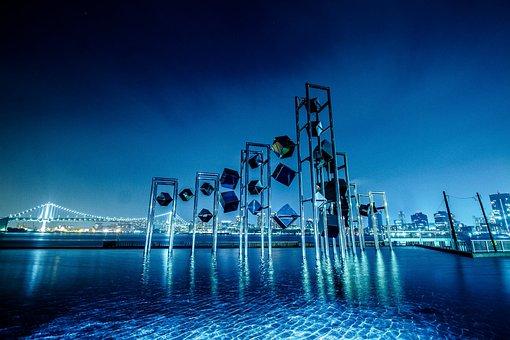 Harumi, Cruise Ship Terminal, Tokyo Tower, Art