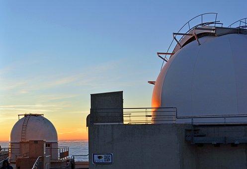 Observatory, Astronomy, Dome, South Peak, Pyrénées