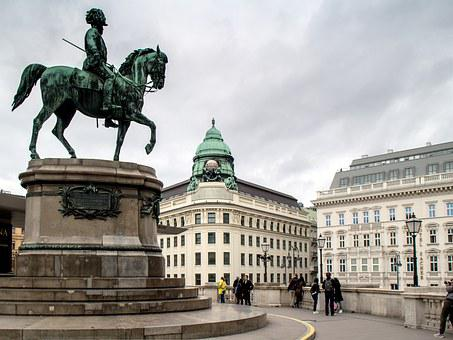 Vienna, Monument, Statue, City, Capital
