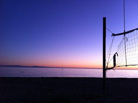 Goleta Beach, Santa Barbara, Beach, Sun, Goleta