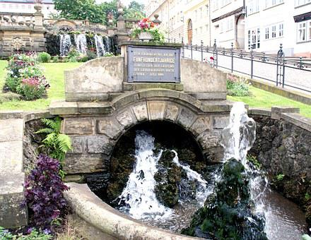 Water, Monument, Waterfall, Old, Water Feature