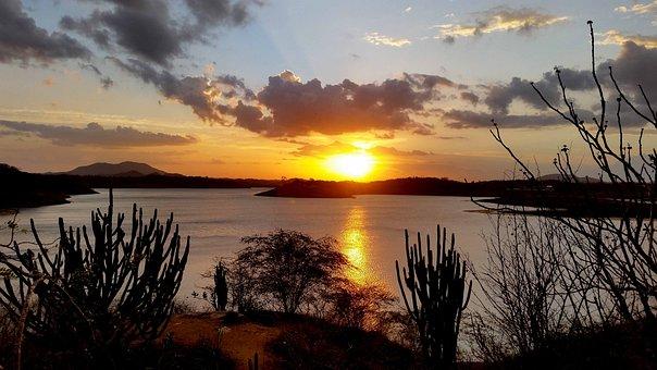Sunset, Calabash, Paraiba, Brazil