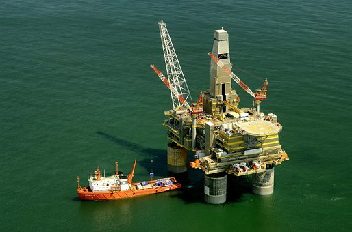 Russia, Oil Platform, Rig, Boat, Ship, Sea, Ocean
