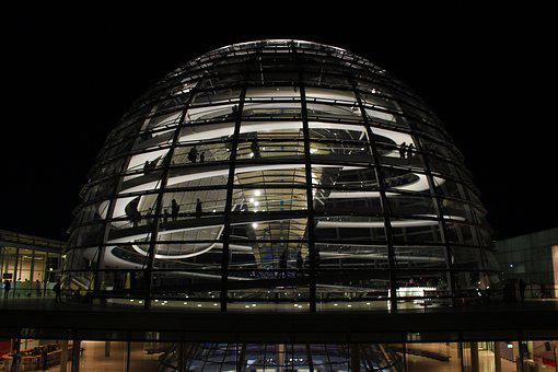 Dome, Government Buildings, Berlin, Bundestag