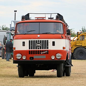 Fire, Firefighter Vehicle, Fire Truck, Old