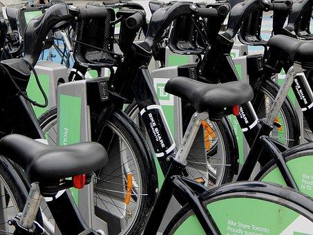 Bike Share, Bicycles, Toronto, Urban, Biking, Cycle