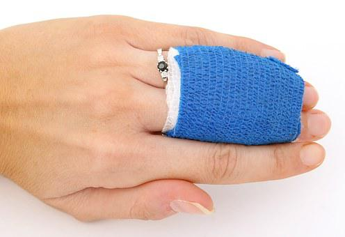 Accident, Aid, Band, Bandage, Bleed, Blood, Bone