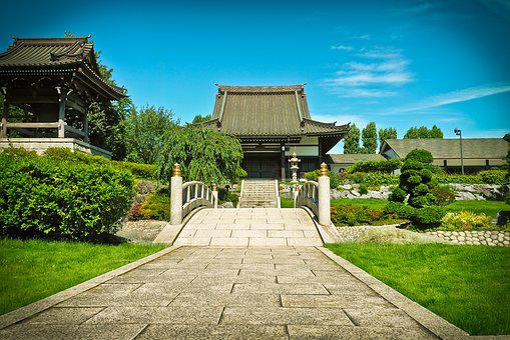 Architecture, Asia, Building, Shrine, Temple Complex