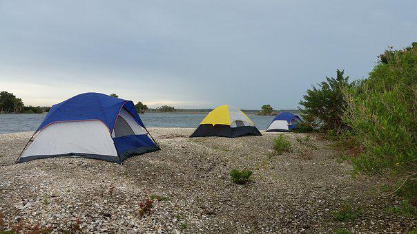 Tent, Camping, Beach, Camping Tent, Camp, Nature