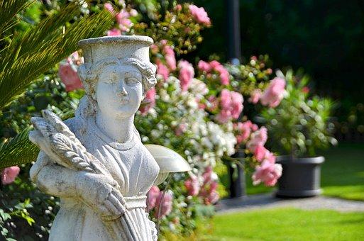 Fig, Statue, Garden Gnome, Garden, Clay Figure