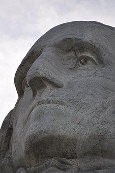 George, Washington, Mount, Rushmore, South, Dakota