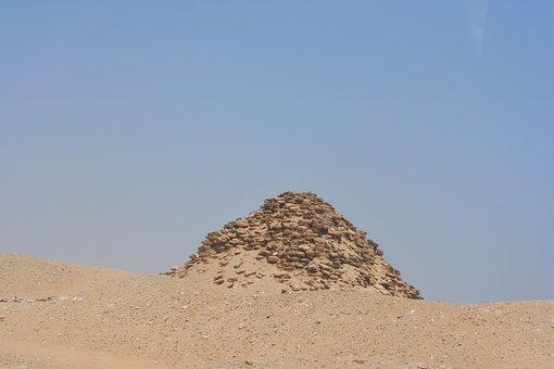 Saqqara, Weathering, Collapse, Staircase, Piramitto