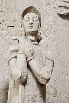 Statue, Pierre, Church, Stone Statues, Stone Statue