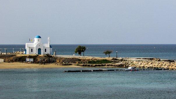 Cyprus, Protaras, Ayios Nikolaos, Church, Orthodox