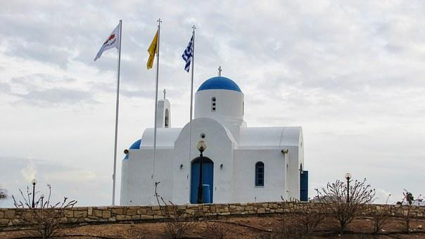 Cyprus, Protaras, Ayios Nikolaos, Church