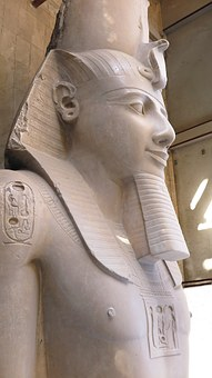 Memphis, Egypt, Ramses Ii, Pharaoh, Statue, Sculpture