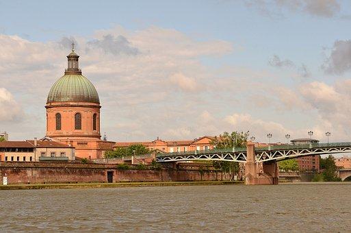 Toulouse, Pont Saint Pierre, Garonne