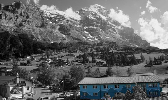 Hostel, Eiger North Face, Grindelwald