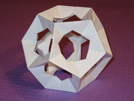 Dodecahedron, Platonic Solid, Origami, Paper, Pentagon