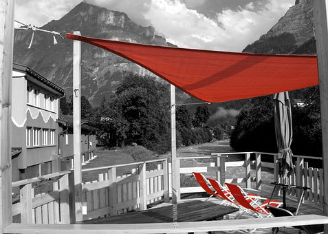 Sun Deck, Eiger, Eiger North Face, Hostel, Grindelwald