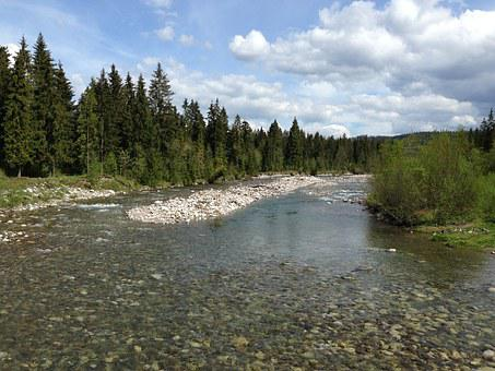 Mountains, Tatry, River, Protein, Landscape