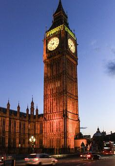 Big Ben, London, Parliament, England, Uk, Clock