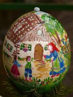 Easter Egg, Easter, Paint, Easter Egg Painting