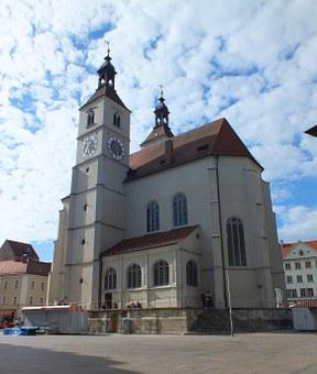 Regensburg, Church, Germany, Bavaria, Eastern Bavaria