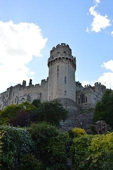Castle, Warwick, Medieval, Architecture, Historic
