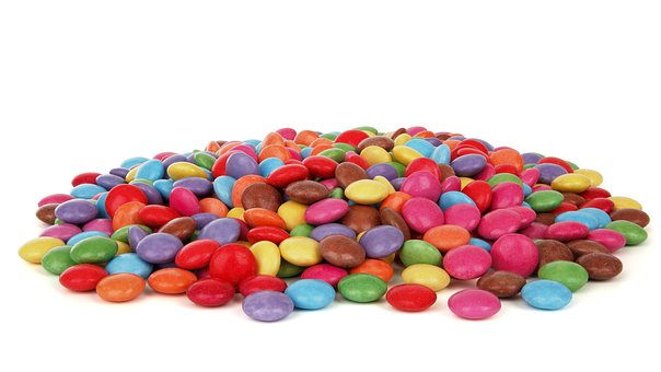 Button, Candy, Chocolate, Coated, Color, Colorful
