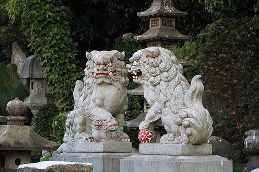 Dog, Sculpture, Shisa, Okinawan Mythology