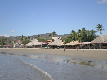 San Juan Del Sur, Nicaragua, Sun, Beach, Vacation