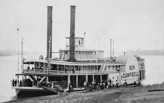 Paddle Steamer, Ship, Steamboat, Boot, Paddle Steamers