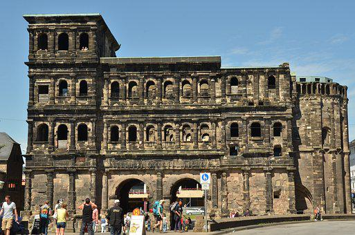 Porta Nigra, Trier, Roman, Port, City gate, History