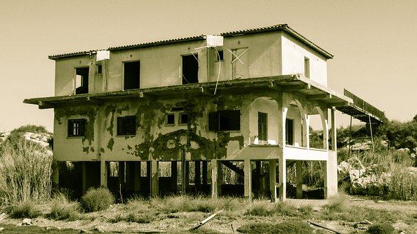 House, Destroyed, Abandoned, Destruction, Damage
