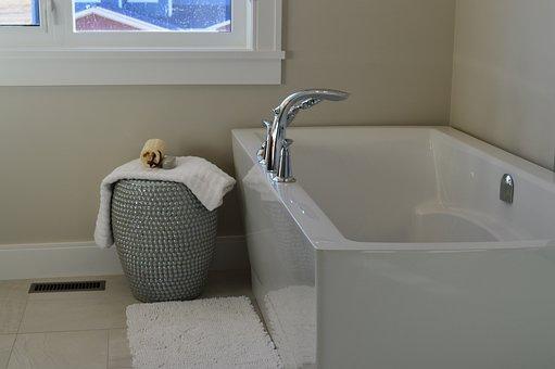 Bathtub, Tub, Bathroom, Bath, Bathing, House, Home