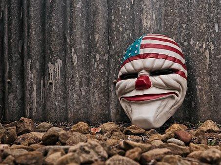 Urban, Clown, Evil, Grunge, Horror, Beach, Carnival