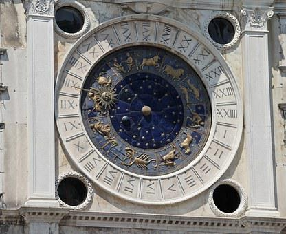 Sun Dial, Zodiac, Astronomy, Astrology, Clock, Time